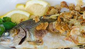 Freitagsfisch: Forelle Mandelbett