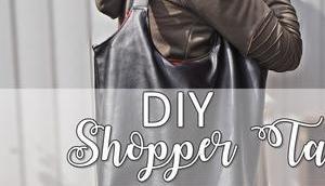 {DIY} Shopper Tasche