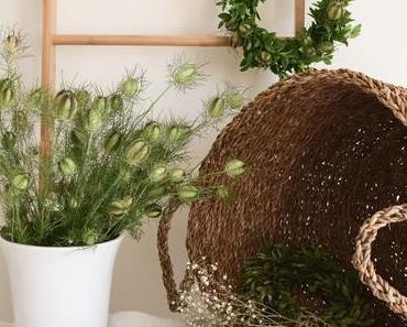 Zwei tolle Sommerkränze mit Material frisch aus deinem Garten, inkl. Video