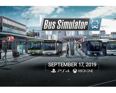BUS SIMULATOR für PS4 und XBOX One hat endlich ein Release Date