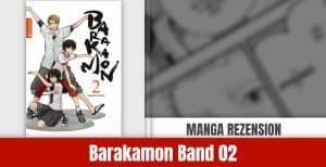 Review zu Barakamon Band 2