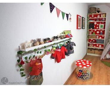 Roomtour DIY-Märchenwald-Kinderzimmer
