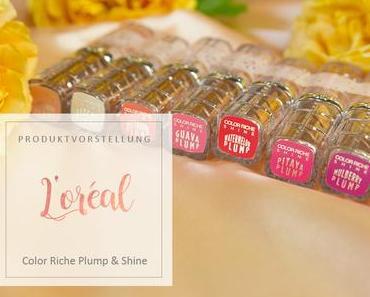L'Oreal - Color Riche Plump & Shine Lippenstifte