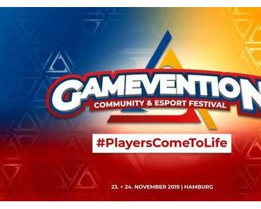 Gaming-Festival GAMEVENTION debütiert vom 23. bis 24. November 2019 in Hamburg