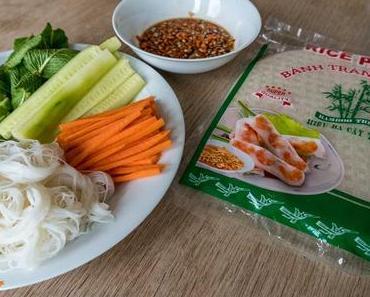 Vietnamesische Sommerrollen – gesunde Leckerei für heiße Tage