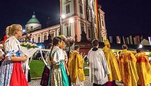 Bild Woche: Lichterprozession Burgenländische Kroatenwallfahrt