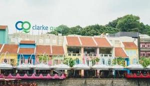 Singapur Clarke Quay Bootstour Singapore River