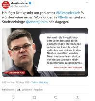 Berlin: Mietendeckel nimmt konkrete Konturen an