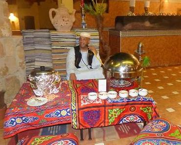 Ägyptisches Essen im Hotel