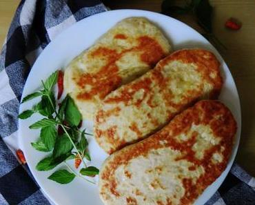 Indisches Naan-Brot [vegan]