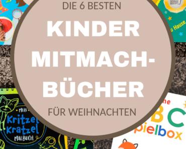 Kritzelbuch und andere Mitmachbücher: Tolle Buch-Ideen für Kinder