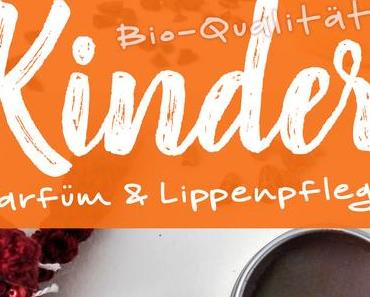 »Schokoprinzessin« festes Kinderparfüm & Lippenbalsam