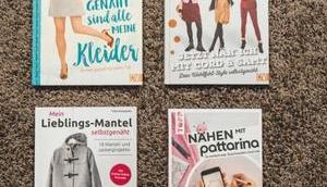 Nähbücher Rezension: Neue Zuschneide-App, tolle Kleider, Lieblingsmäntel, Cord Samt