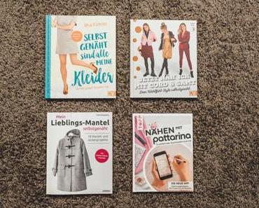 Nähbücher Rezension: Neue Zuschneide-App, tolle Kleider, Lieblingsmäntel, Cord und Samt