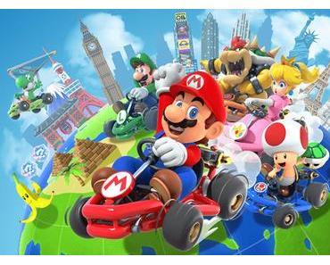 Super Mario Kart Tour für iOS und Android erschienen