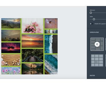 Ansprechende Collagen erstellen mit Adobe Spark