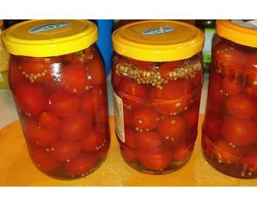 Gewürztomaten - eingelegt mit Chili, Rosmarin und Vanille