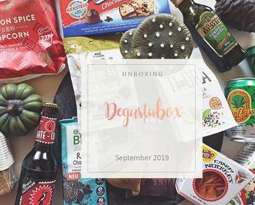 Degustabox - September 2019 - unboxing