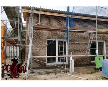 #0945 [Session-Life] Bautagebuch ~ Fugenarbeiten ~ Das Haus ist verfugt