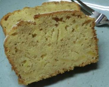 Apfelkuchen mit Ingwer