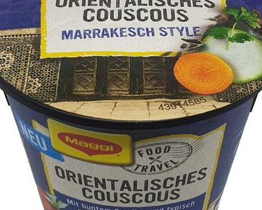 Maggi - Food Travel - Orientalisches Couscous Marrakesch Style