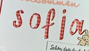 Eine süße Karte Sofia