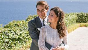 Rafa Nadal Mery Perelló veröffentlichen offiziellen Fotos ihrer Hochzeit