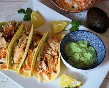 In meiner Sammlung ist ein neues Rezept eingezogen....Lachs Tacos mit Coleslaw und Avocado Creme! #Rezept #Fisch #Food