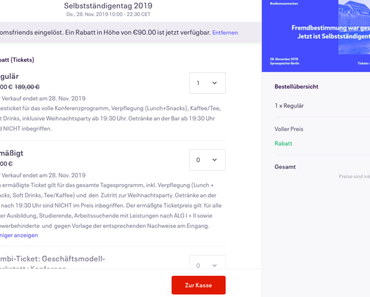 Unternehmerisch, frei und anders arbeiten: Catharina Bruns über den Selbstständigentag 2019
