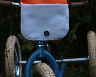 Fahrradtasche nähen: eine niedliche Fuchs-Fahrrad-Tasche selber nähen (inkl. Schnittmuster)
