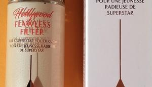 [Werbung] Charlotte Tilbury Hollywood Flawless Filter Maybelline falsies Push Drama Mascara very black