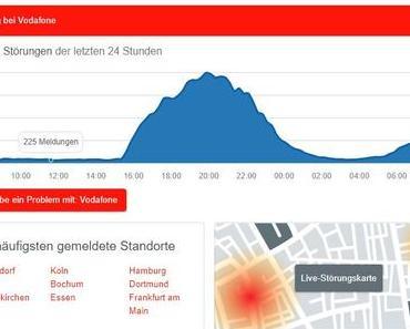 Seit gestern schwere Internetstörungen besonders in NRW