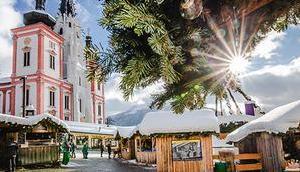 Jahre Mariazeller Advent: Eröffnungswochenende Weihnachtskonzert Wiener Sängerknaben traditionellem Krampuslauf