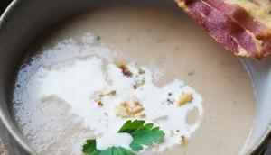 Maronensuppe karamellisierten Nüssen Speck Mom's cooking friday