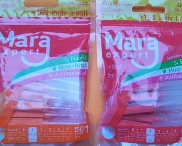 [Werbung] Mara Expert Interdental Bürsten ISO 1 fein und ISO 2 mittel fein