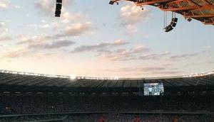 Allianz Arena: Heimarena deutschen Rekordmeisters Bayern führt Apple