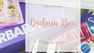 Barbara Oktober 2019 unboxing