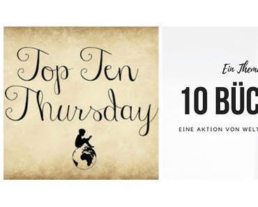 TTT # 443 | Deine 10 dicksten Wälzer, die du dieses Jahr gelesen hast