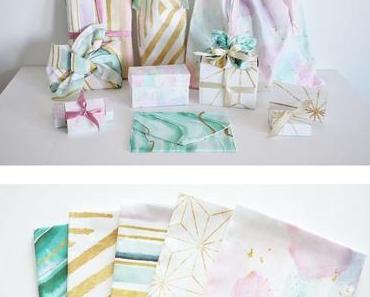Geschenke nachhaltig verpacken*