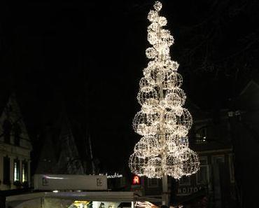 Foto: Der Lüdinghauser Techno-Weihnachtsbaum