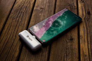 Lightr 2 USB-Powerbank zum Aufladen des Smartphones