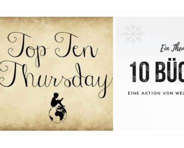 TTT # 445   ❄️ 10 Bücher mit einem ❄️ winterlich / weihnachtlichem ❄️ Cover