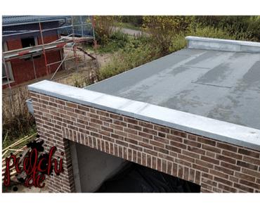 #0967 [Session-Life] Bautagebuch ~ Das Garagendach ist dicht ~ Dachdeckerarbeiten