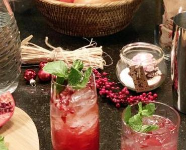 Funkelnde Sterne und exotische Kerne – Weihnachtscocktails mit Granatapfel