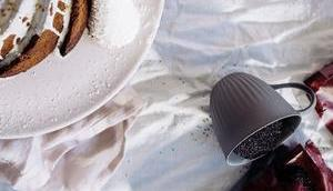 Glutenfreier Nuss-Nougat-Guglhupf Buchweizen Amaranth