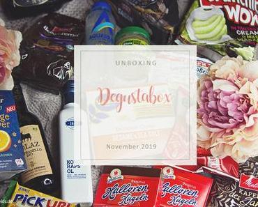 Degustabox - November 2019 - unboxing