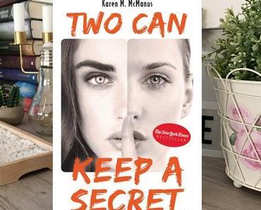 |Rezension| Karen M. McManus - Two can keep a secret