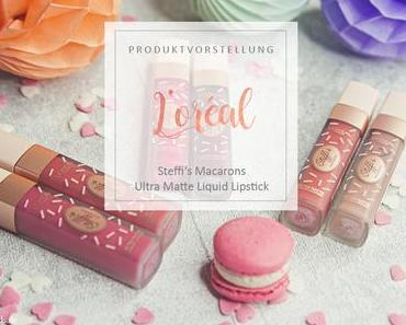 L'Orèal - Steffi's Macarons - Review & Swatches