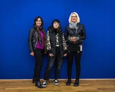 Menschen im Museum – Doris, Isabella und Lana