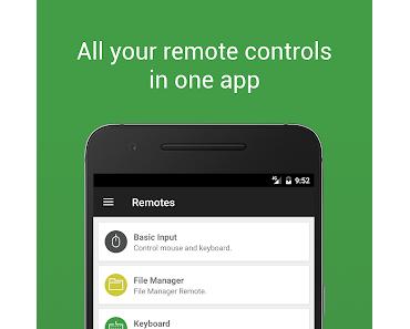 Unified Remote – Spracheingabe & Fernbedienung für den PC, Mac und Linux